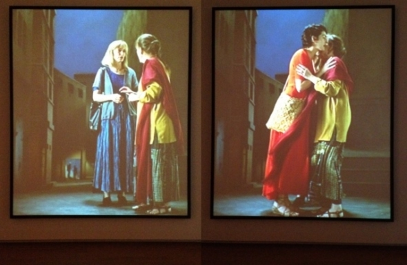 The Greeting, Bill Viola