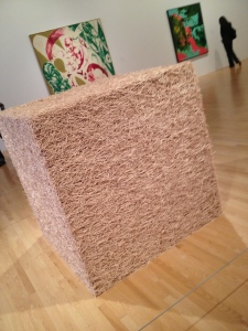 Tara Donovan, Untitled (Toothpicks), 2004
