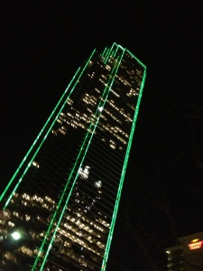 Downtown Dallas Neon