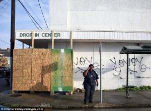 Banksy being stolen