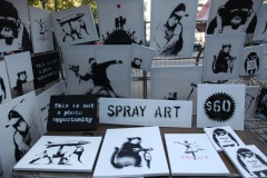 Banksy in Central Park