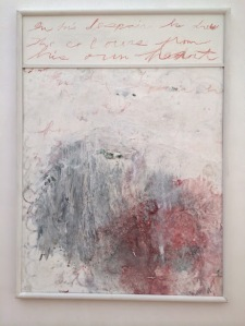 Cy Twombly - Analysis of the Rose 1
