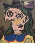 Pablo Picasso, Woman in Purple Hat, 1939